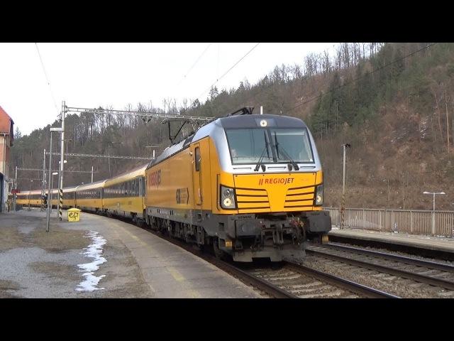 Vlaky Bílovice nad Svitavou (výluka) 3.3.2018