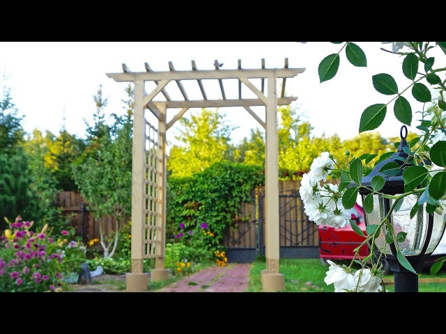 Садовая арка - пергола своими руками. Garden Arch DIY.