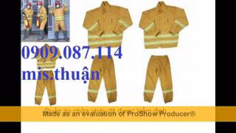 Quần áo chữa cháy theo thông tư 48, Trang phục pccc