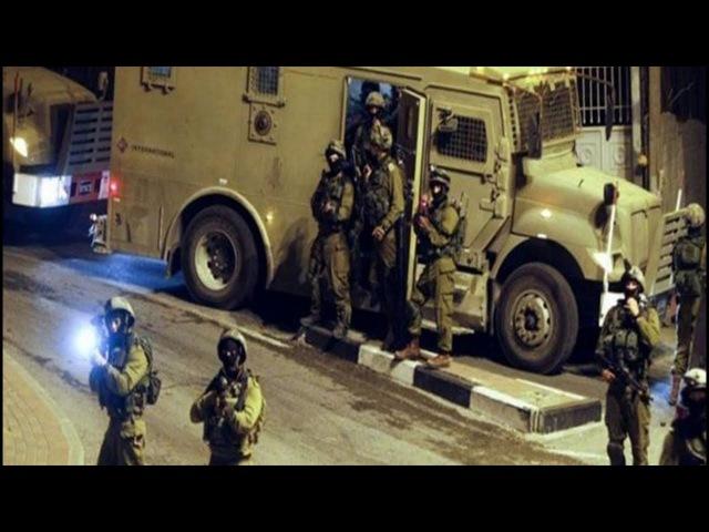 Рейды израильских сил на западном берегу реки иордан. Убито 15 палестинцев. Новости от 20.03.2018