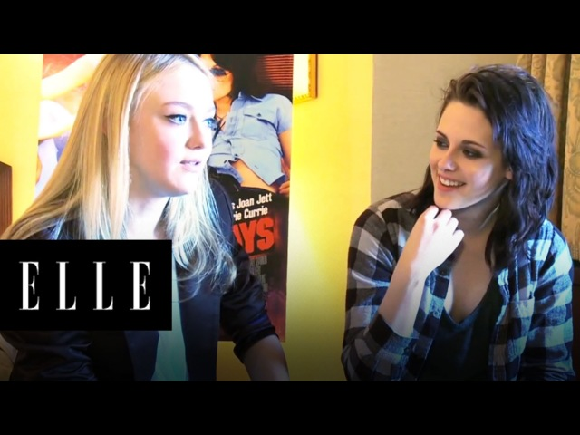 Interview with Cast and Crew of The Runaways | ELLE