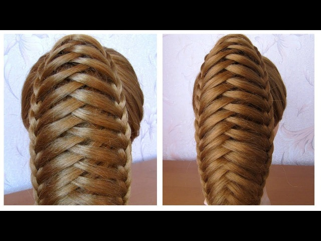Queue de cheval originale et simple ★ Tuto coiffure avec tresse ★ facile à faire