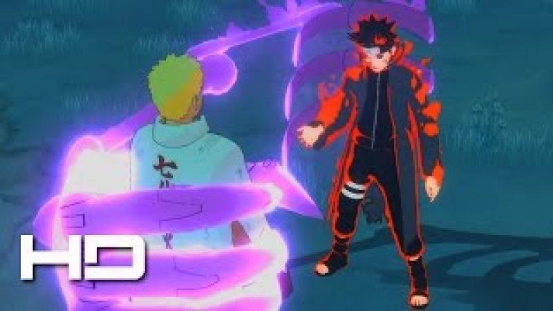 Dark Hokage Menma VS 7th Hokage Naruto - Moveset Mod | NARUTO SHIPPUDEN: Ultimate Ninja STORM 4