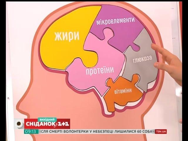 Яка їжа корисна для мозку Поради біохіміка