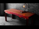 Distressed Industrial Desk How to
