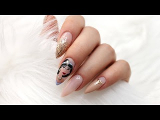 DISNEY JASMINE NAILS | Nail Art