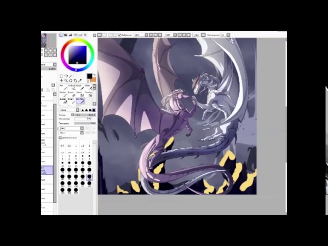 Dragon sisters SPEEDPAINT| Life's too short ANIMATIC UNFINISHED