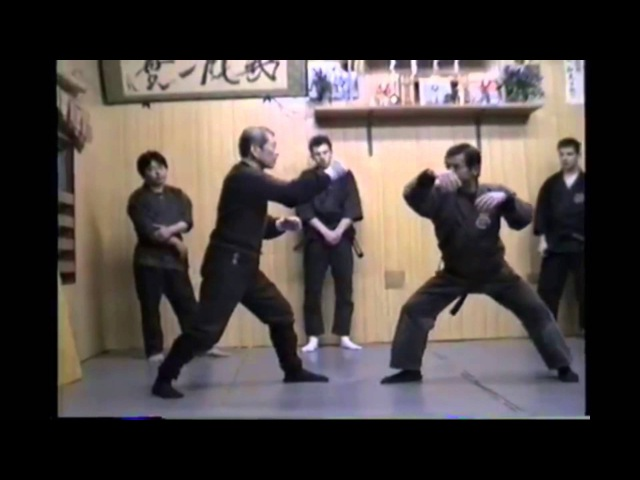 Soke Masaaki Hatsumi and Hard Training