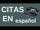Citas en español | el verbo quedar