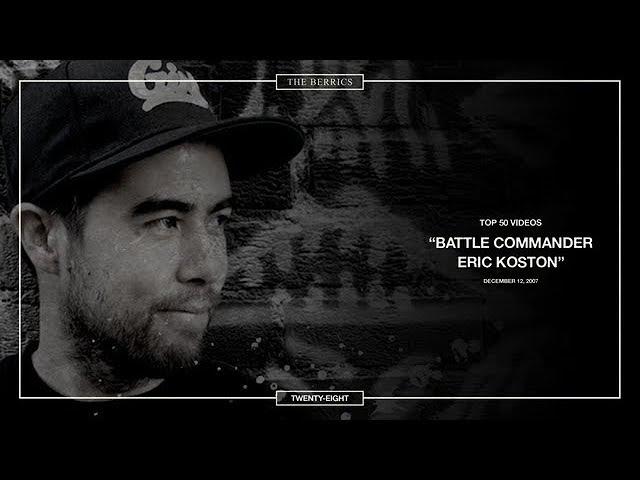 Berrics Top 50: 28 | Eric Koston - Battle Commander