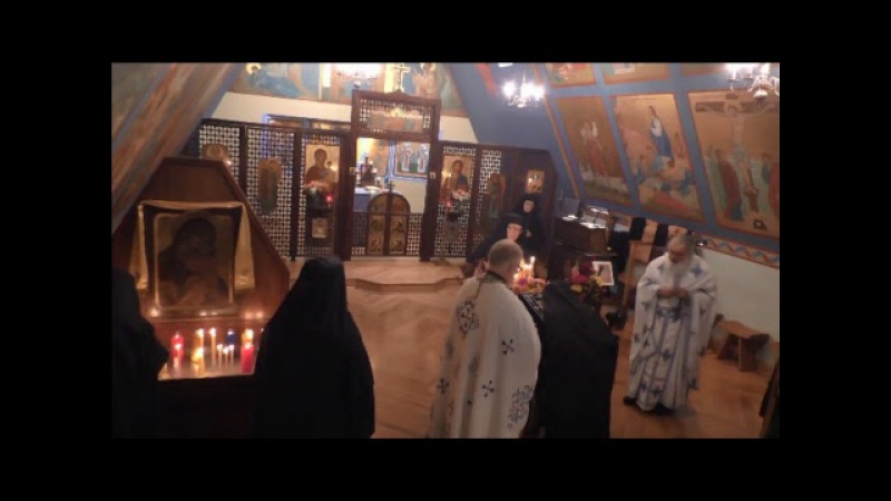 Divine Liturgy with Myrrh-streaming Hawaiian (Iveron) Icon - Fr. Senyo