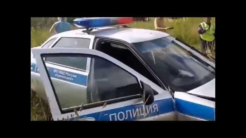 Инспектор ДПС разбил служебный автомобиль. Виновным был признан преследуемый водитель