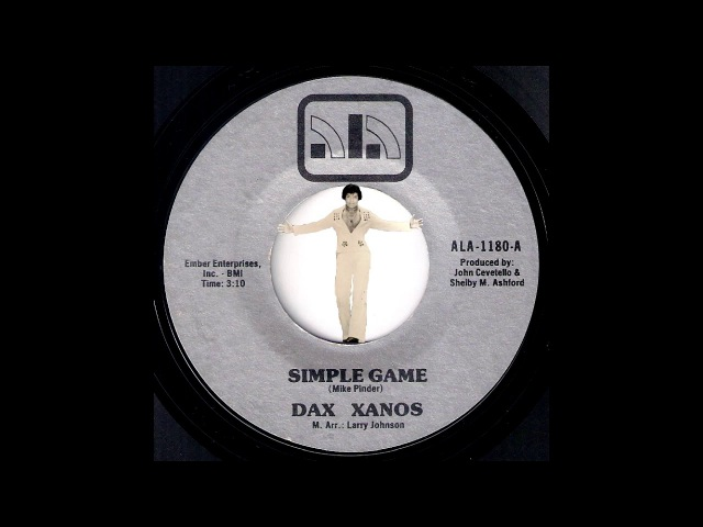 Dax Xanos Simple Game Ala 70s Soul Funk 45