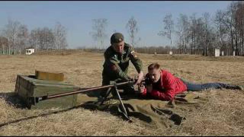 Стрельба из ПТРД. Противотанковое ружьё Дегтярёва