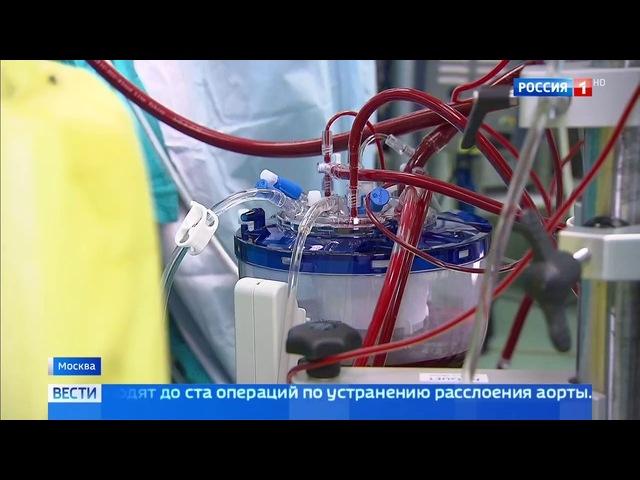 Вести-Москва • Расслоение аорты - не приговор: в Филатовской больнице рассказали, как спасают жизни