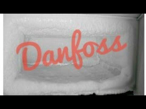 Danfoss! Как убрать шубу в холодильнике. Крутая функция. Фишка. Параметр оттайки D19
