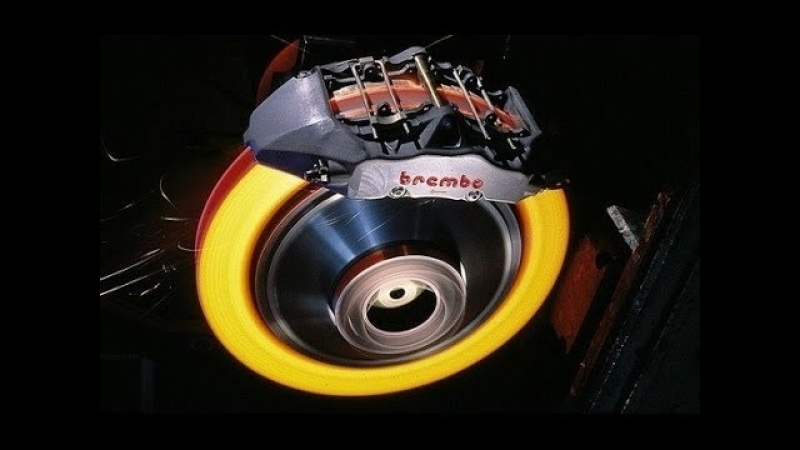 Раскалённые и взрывающиеся тормозные диски