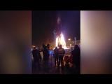 В Южно-Сахалинске во время праздника сгорела елка ??