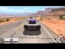 Жестокая авария в BeamNG Drive