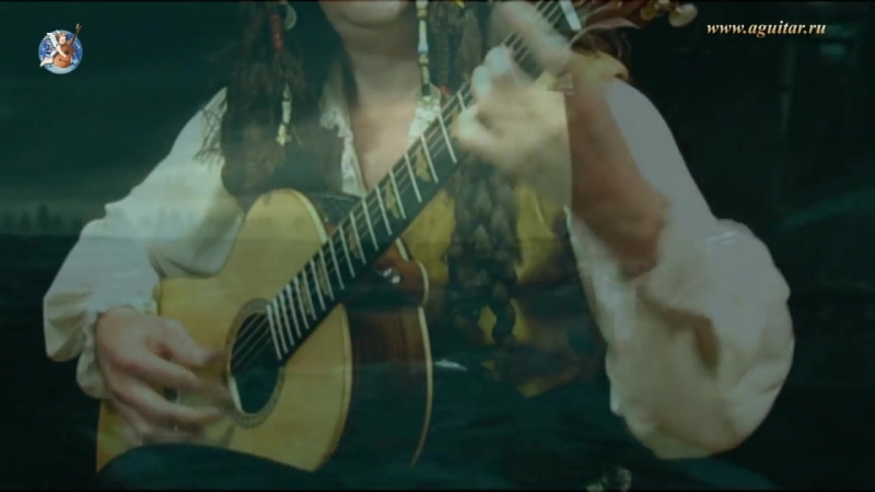 Pirates Of The Caribbean on guitar. Пираты Карибского моря на гитаре