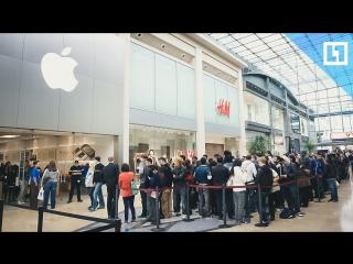 24 часа в очереди за iPhone X