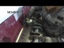 Дефектовка коленвала M54B30, M52B28. Строкер M52B30. Биение на призмах. Диаметр шеек