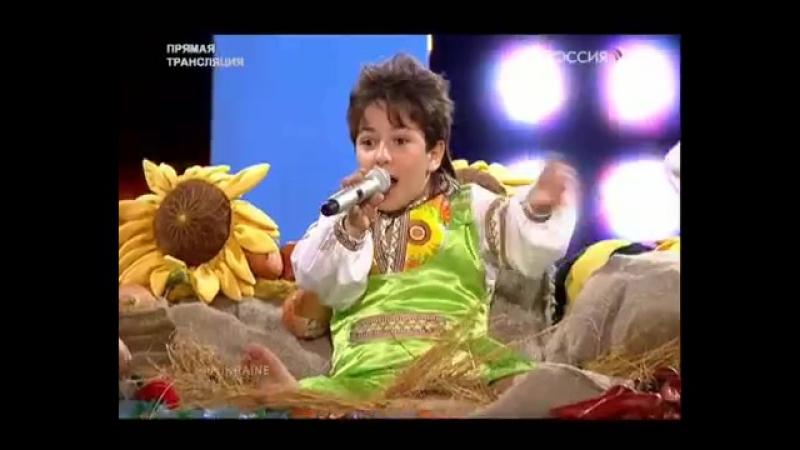 Junior Eurovision 2009- Ukraine - Andranik Aleksanyan - Tri Topoli, Tri Surmi (Live @ JESC)
