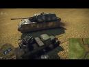 War Thunder Уничтожение Мауса с 4М ГАЗ-ААА 10.22.2017 - 16.06.14.04