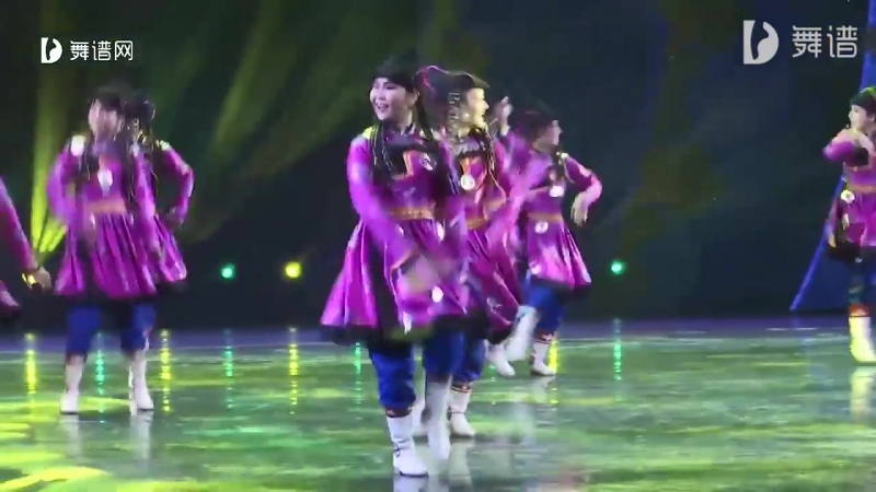 Mongolian Dance (蒙古族舞蹈) - 跳起幺赫尔
