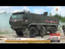 Атаку «диверсантов» на бронеавтомобиль «Тайфун» отбили в ВВО