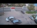 Глупая авария в Красном Селе.