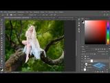 Создаём в Фотошоп коллаж с лесной феей - 1