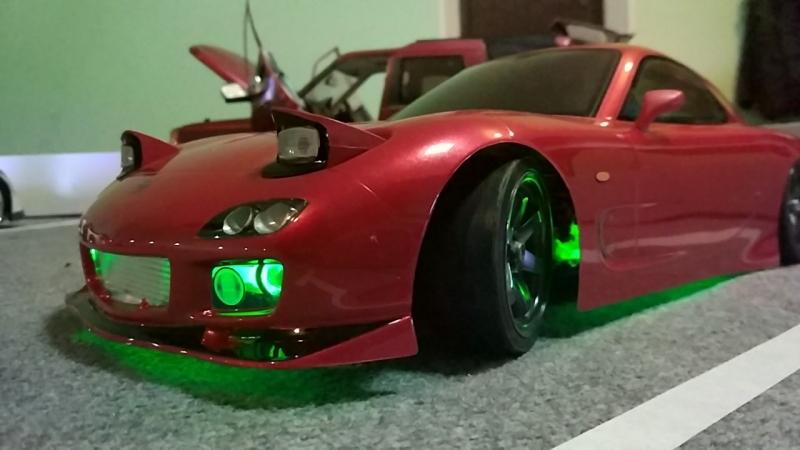 Mazda RX7 RC Drift