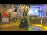 Восточный танец с канделябром и с крыльями. Маргарита Belly_dance