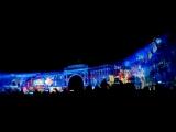День народного единства. Фестиваль света на Дворцовой площади