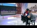 Leslie Jones, Adam Rippon, and Scott Hamilton commentate VM's short dance.