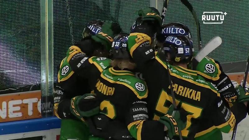 Ilves - Kärpät 4:5 (ОТ)(Обзор матча) Финский Хоккей╞╬═╡Suomen Jääkiekko