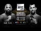 UFC 221 Romero vs Rockhold