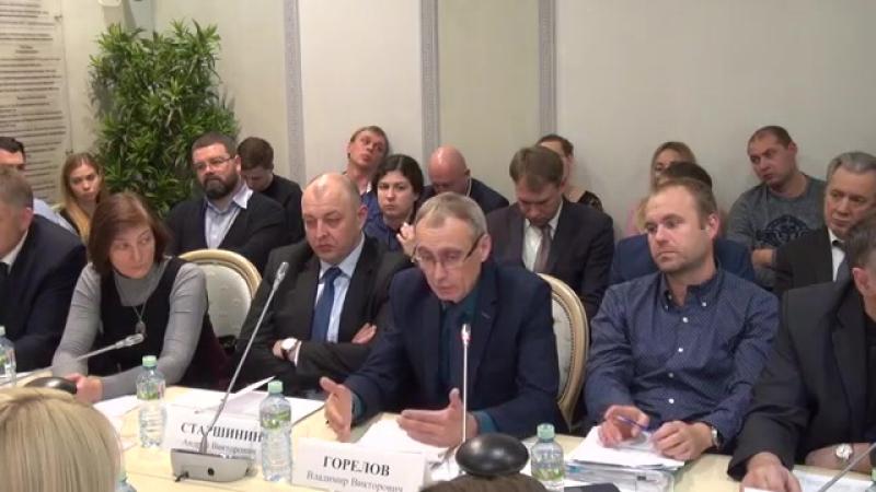 Выступление президента НКО «Верум» в Общественной палате РФ