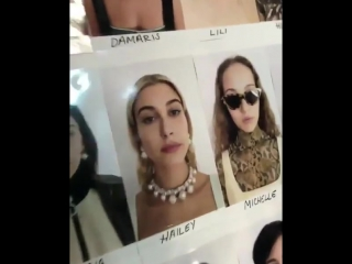 Backstage at the TOPSHOP fashion show #LFW