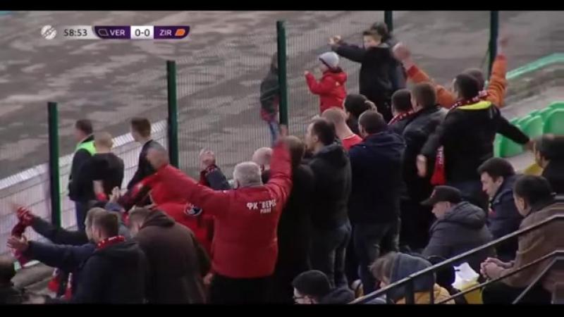 «Верес» vs «Зирка» 00. Обзор матча.