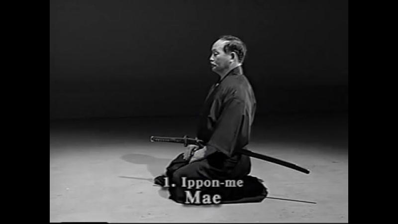 ZNKR Iaido (Seitei) kata with Noboru Ogura