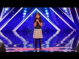 The most adorable singer takes on the biggest song. Celine Tam