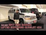 New 2017 GMC Savana Explorer Quigley 4x4 Lifted Conversion Van - White Bear Lake, St Paul, Mpls, MN