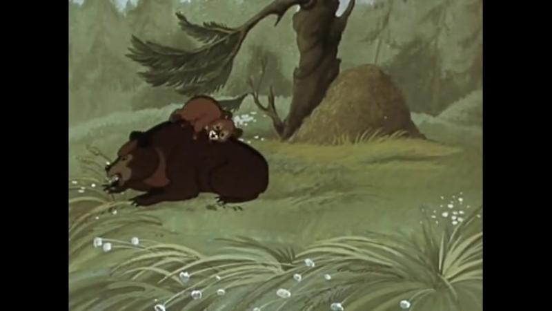 Седой медведь (Союзмультфильм, 1988г.) [480]
