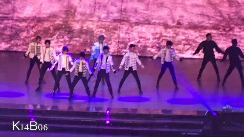 171125 EXO 엑소 - 전야 Forever KoKoBop 으르렁 - EXO PLANET 4 - The ElyXiOn in Seoul [직캠]