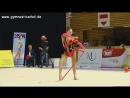 Полина Хонина лента финал Этап Гран при 2017 Брно