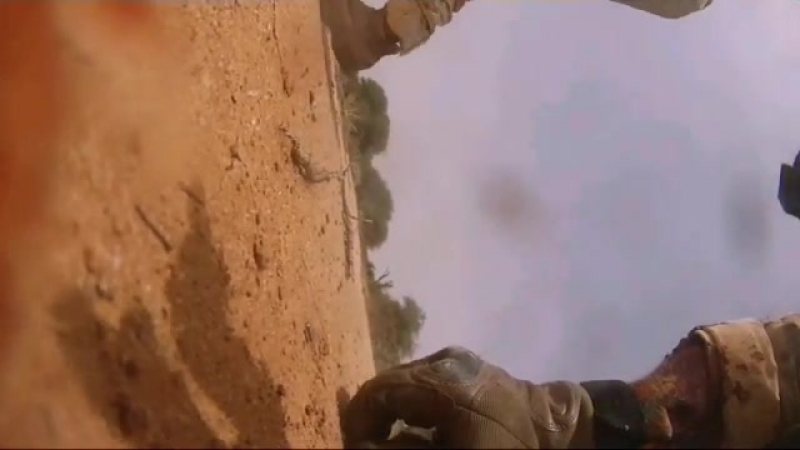 The soldiers of the Khilafah ambush American soldiers near the artificial borders of Niger and Mali