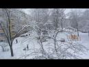 Такого снегопада не помнят здешние места! ...И жизнь была прекрасна, прекрасна и чиста