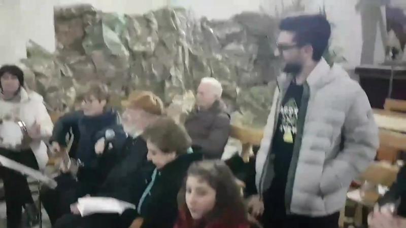 Piero Barone visita a San Nicola 15 12 17